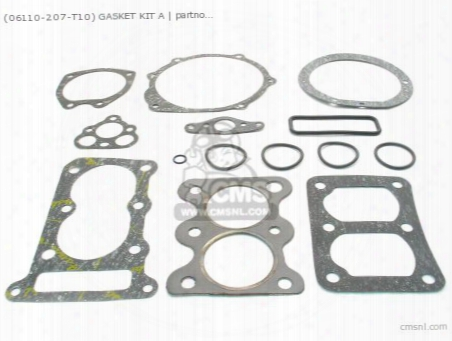 (06110-207-t10) Gasket Set A