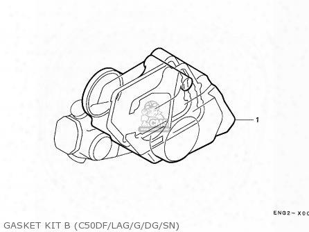 (06112-gb5-812) Gasket Kit,b
