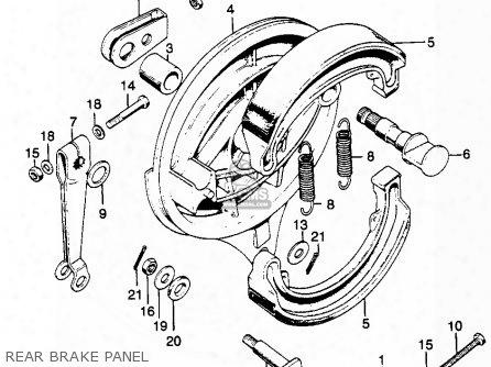 (06430-hm5-a80) Shoe Set,brake