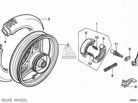 (06430gy1922) Shoe Set,brake