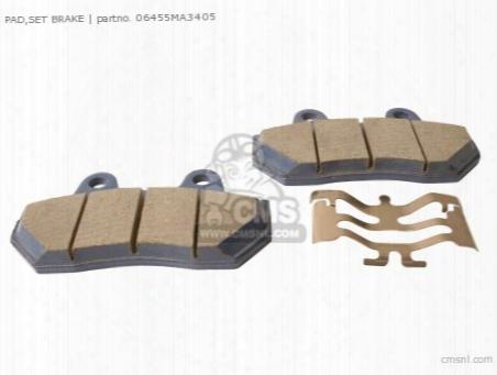 (06435-mc7-405) Pad,set Brake