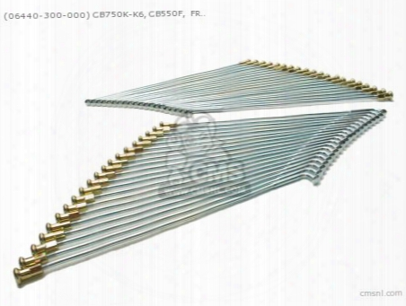 (06440-300-000) Cb750k-k6, Cb550f, Front Wheel Spoke Set Mild S