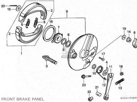 (06450-kc2-680) Shoe Set,brake