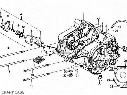 (11191-gb0-912) Gasket,crankcase