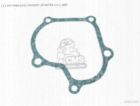 (11367-my2-623) Gasket,starter Co