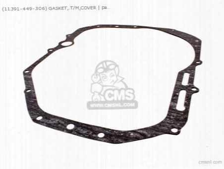 (11391449700) Gasket,.t/m,cover