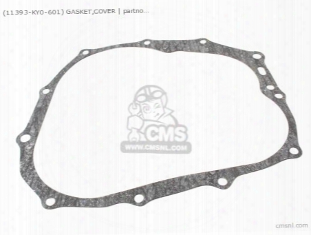 (11393107010) Gasket,cover