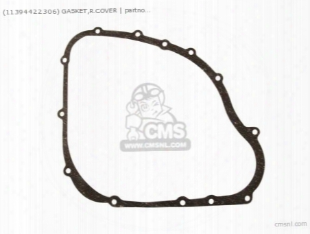 (11394422306) Gasket,r.cover