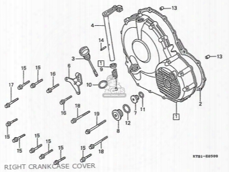 (11396-my9-010) Gasket,r.cover