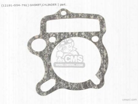 (12191-gs4-761) Gasket,cylinder