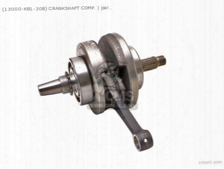(13000437010) Crankshaft Comp.