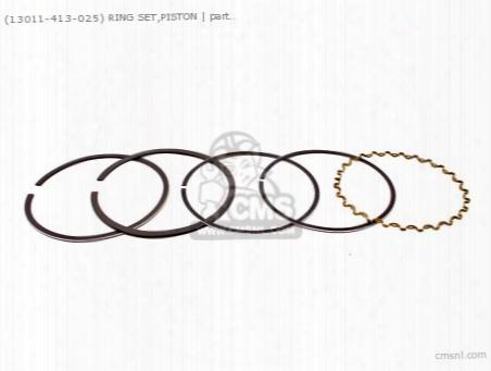 (13011413023) Ring Set,piston
