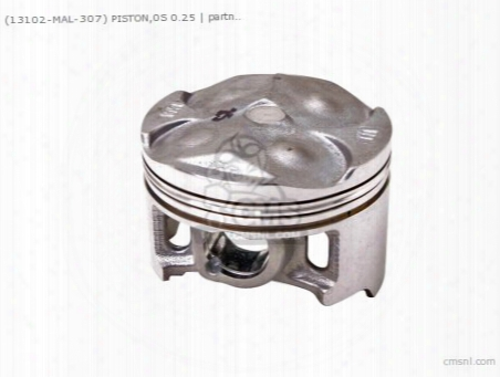 (13102-mal-307) Piston,0s 0.25