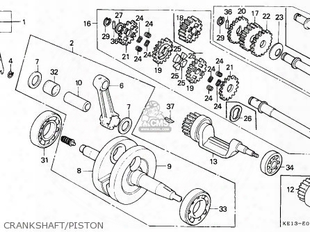 (13111km4000) Pin,piston