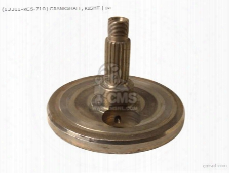 (13311-kcs-710) Crankshaft, Right