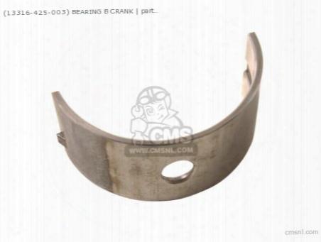 (13316422003) Bearing B Crank