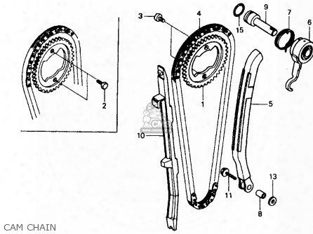 (14620mk4601) Guide,cam Chain