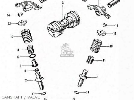 (14721-087-010) Valve,exhaust