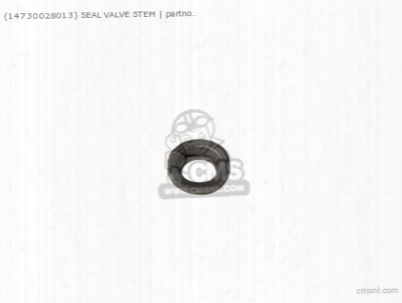 (14730028013) Seal Valve Stem