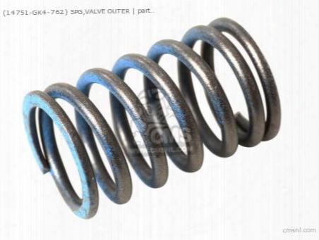 (14751gk4762) Spg,valve Outer