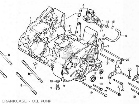(15100166611) Pump Assy.,oil
