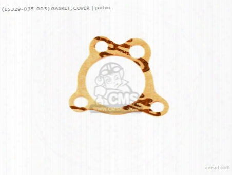 (15329035003) Gasket, Cover