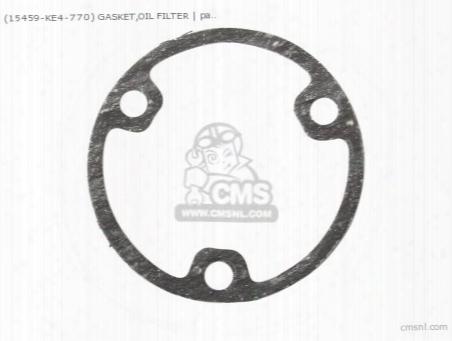 (15459958306) Gasket,oil Filter