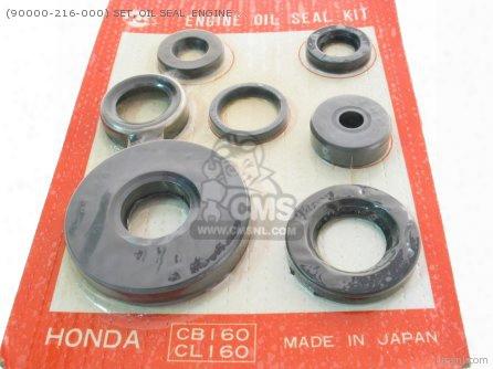(90000-216-000) Set, Oil Seal Engine (ars) Oem