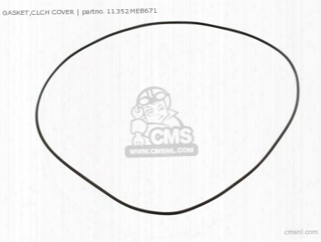 Gasket,clch Cover