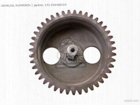 Gear,oil Pumpdriv
