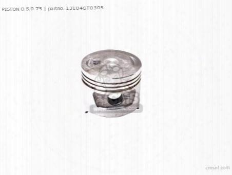 Piston O.s.0.75