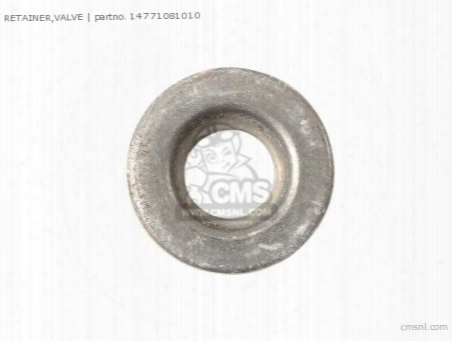 Retainer,valve