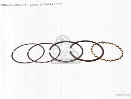 Ring,piston 0.75