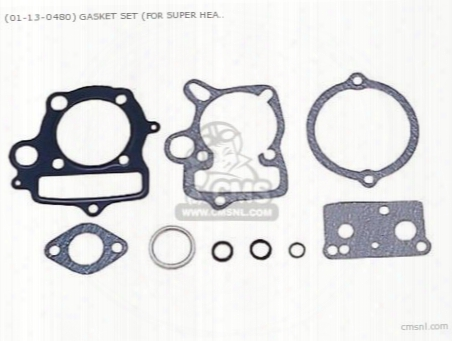 (01-13-0480) Gasket Set (for Super Head) 6v Monkey/ Gorilla)50