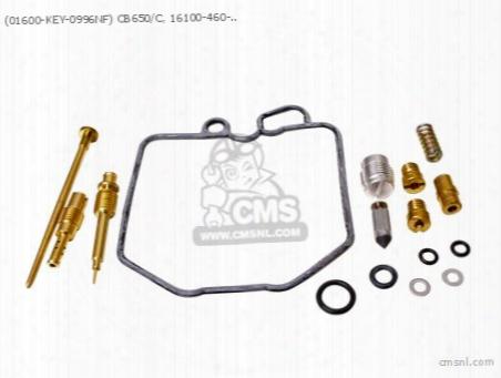 (01600-key-0996nf) Cb650/c, 16100-460-672, 16100-460-772, Carb R