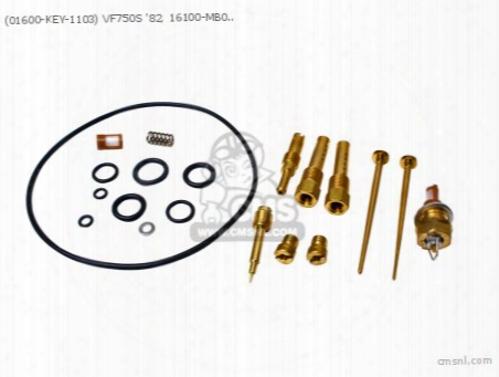 (01600-key-1103) Vf750s '82, 16100-mb0-672, Carb Revision Set Ja
