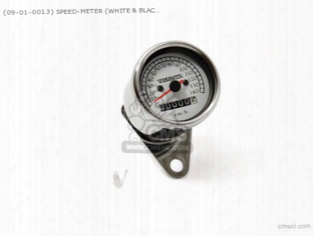 (09-01-0013) Speed-meter (white & Black) Multipurpose 6/12v Mode