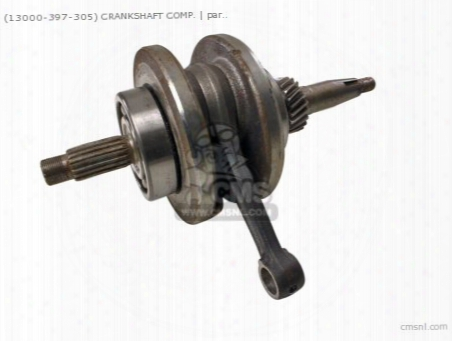 (13000-397-305) Crankshaft Comp.