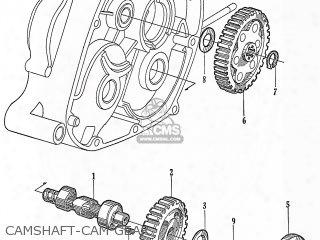(14321-001-010) Gear, Cam