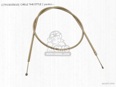 (17910035810) Cable Throttle