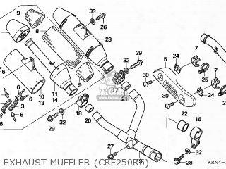 (18310-krn-862) Muffler Comp R