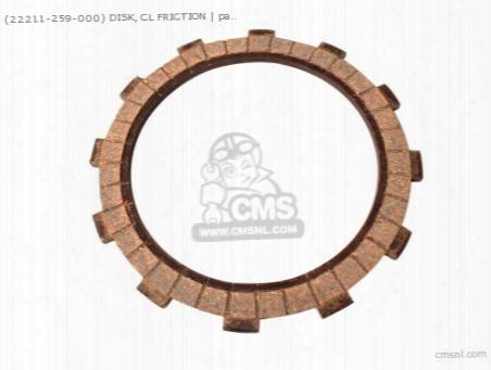 (22211-259-000) Disc Clutch