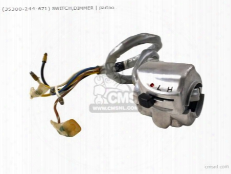 (35300244671) Switch,dimmer