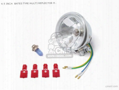 4.5 Inch Bates Type Multi Reflector Headlight Multipurpose (1