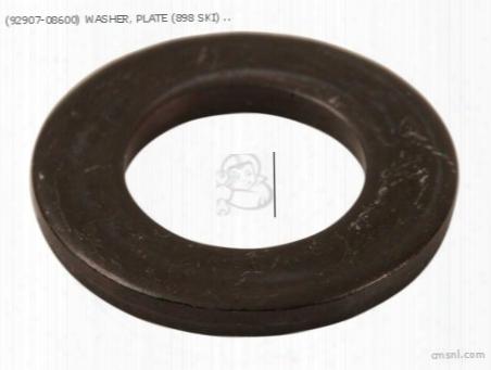 (92907-08600) Washer, Plate (898 Ski)