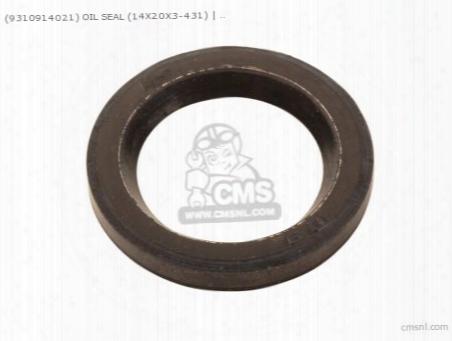 (9310914021) Oil Seal (14x20x3-431)