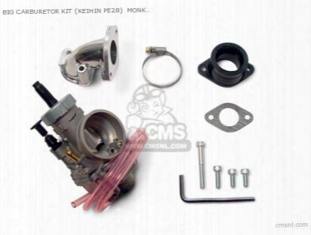 Big Carburetor Kit (keihin Pe28) Monkey (for Bore Up Only)