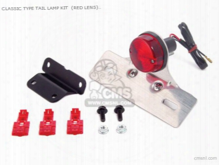 Classic Type Tail Lamp Kit (red Lens) 12v Monkey ?gorilla (for