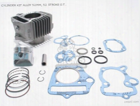 Cylinder Kit Alloy (ãƒâ˜52), For O.t. 6 Volt 70 Head