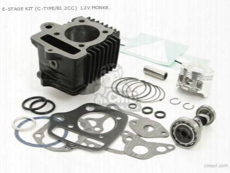 E-stage Kit (c-type/81.2cc) 12v Monkey ?gorilla (with Camshaft
